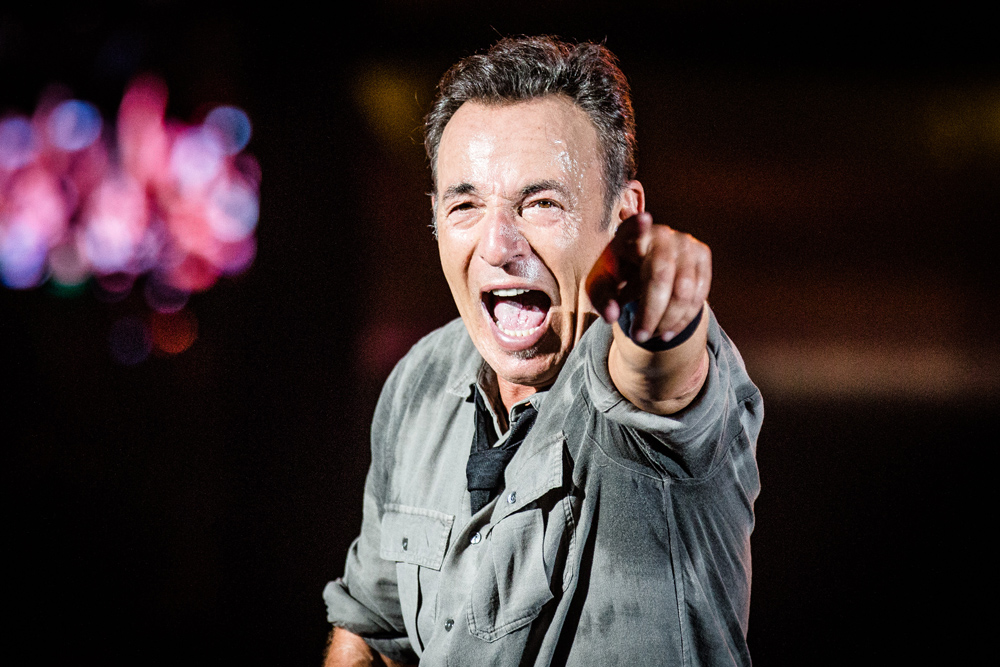 Bruce Springsteen no Rock in Rio Lisboa 2016