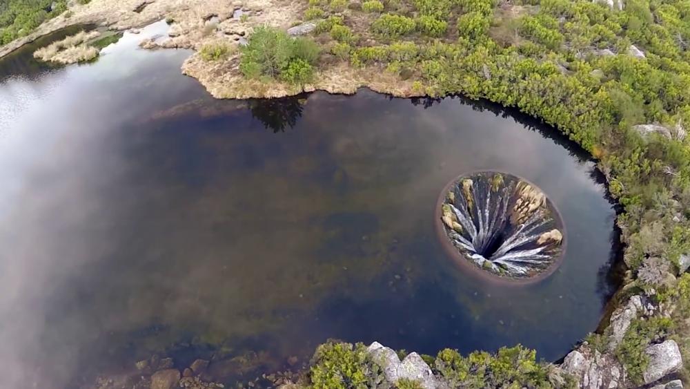 Drone revela imagens surpreendentes da barragem de Covão dos Conchos