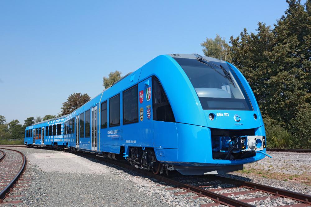 Alstom desenvolve novo comboio a hidrogénio
