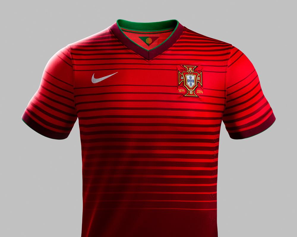 Esta é a camisola da Selecção Portuguesa para o Mundial 2014 ed8d48dc7c68c
