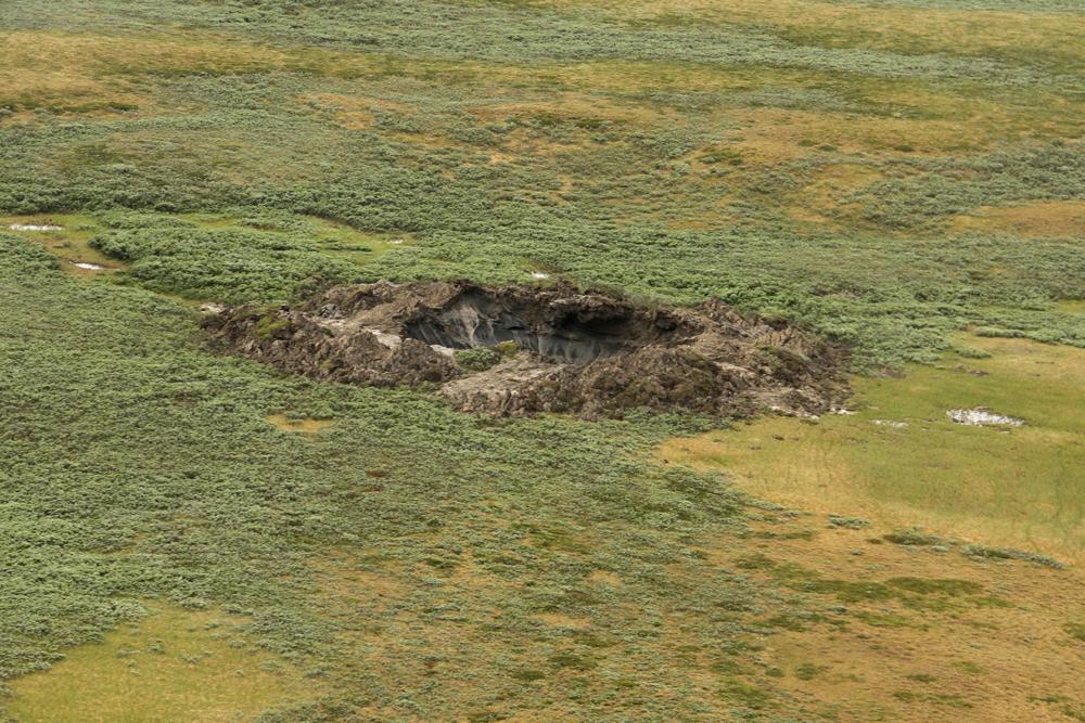 Russia Siberia Crater