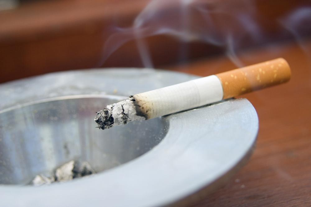 mente do fumador ao longo do consumo do maço