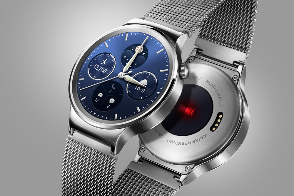 a3ffd1c8f6e O Huawei Watch é um smartwatch que não parece um smartwatch