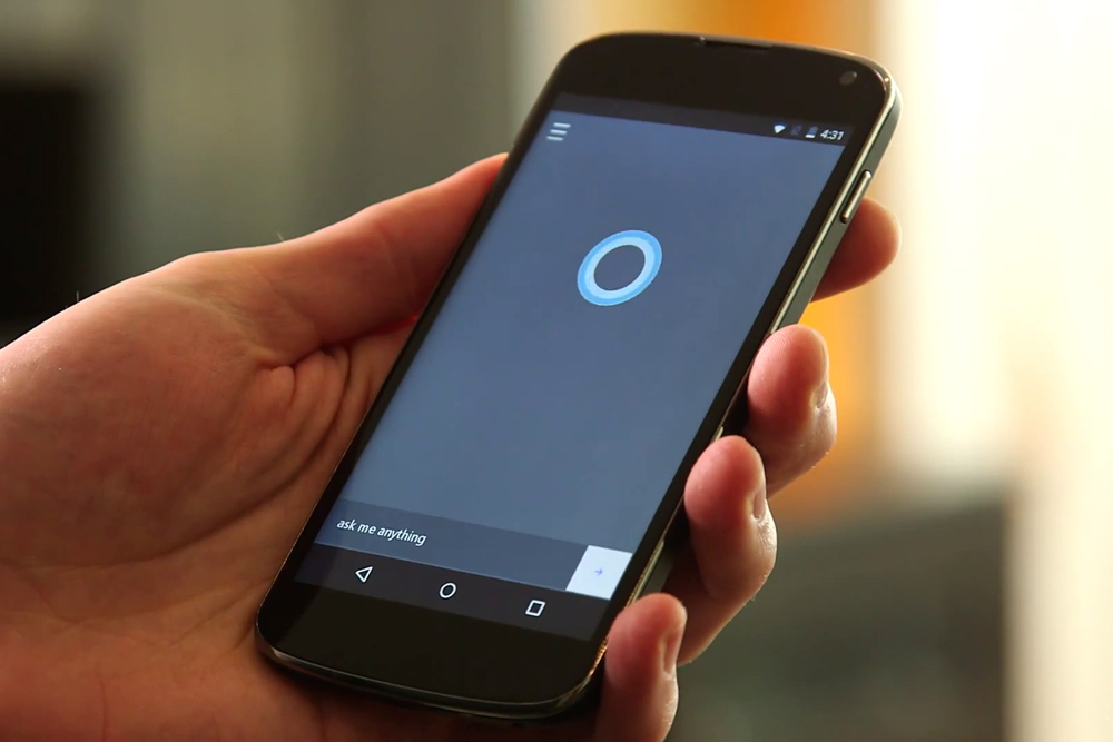 Cortana para iOS e Android