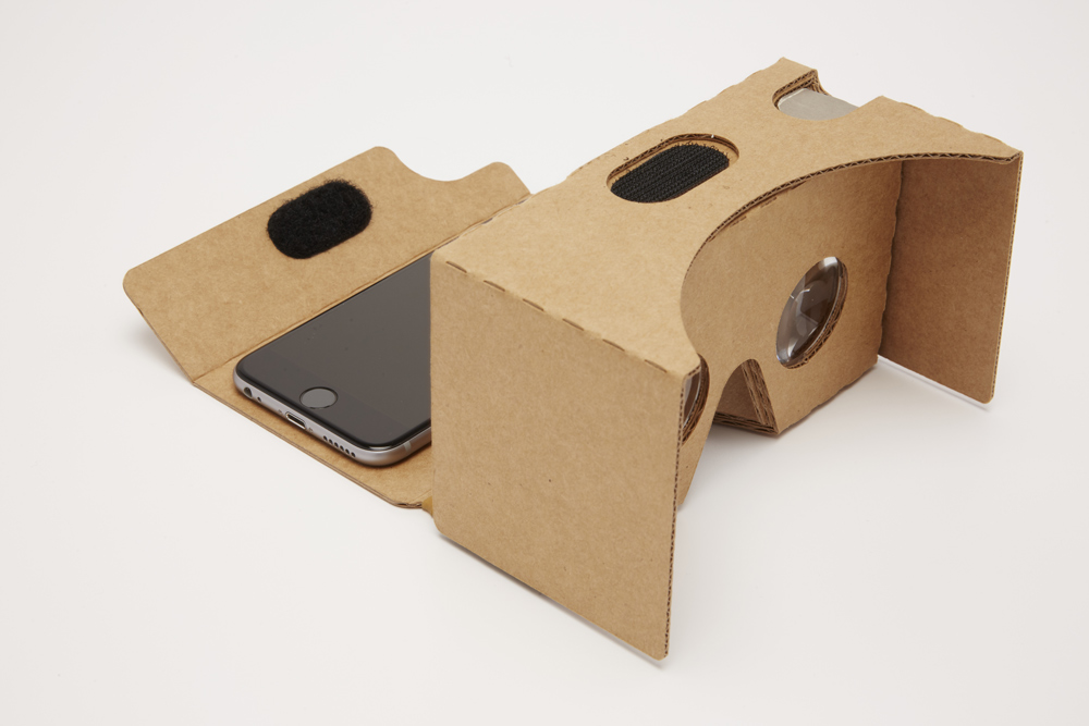 novo Google Cardboard iPhone