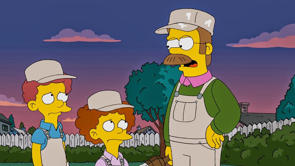 voz do Ned Flanders