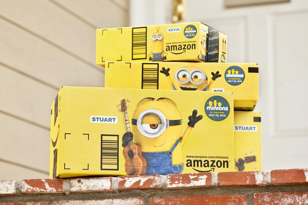 caixas de cartão