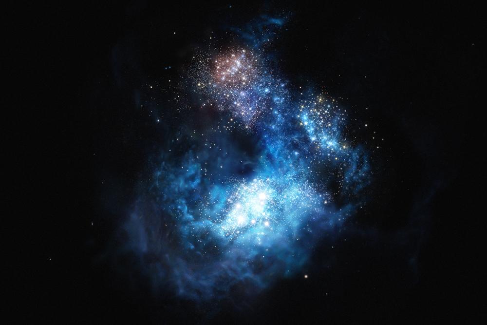 galáxia CR7