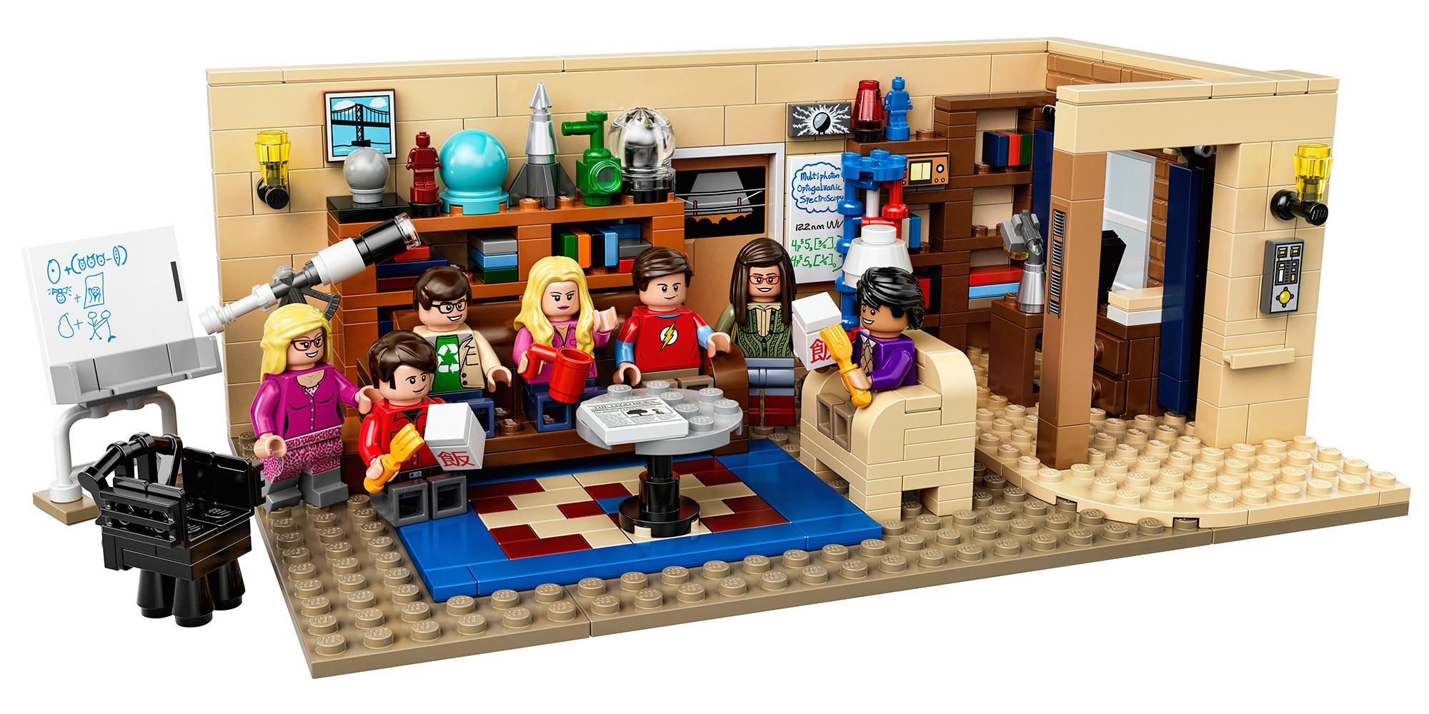 The Big Bang Theory em LEGO