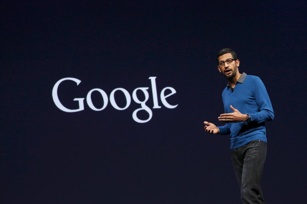 Sundar Pichai ceo da google