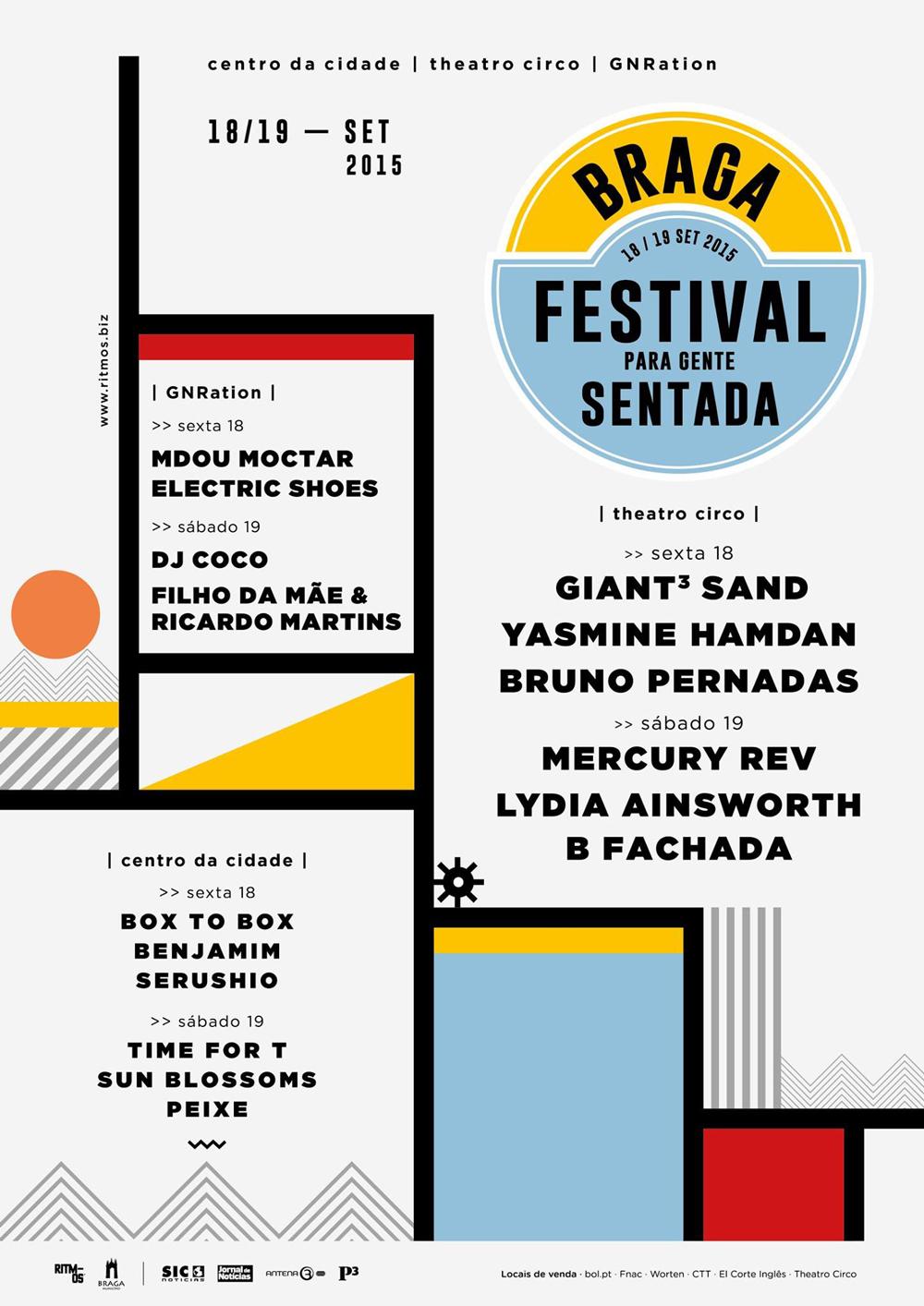 cartaz Festival para Gente Sentada