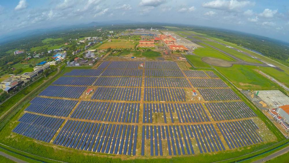 aeroporto energia solar