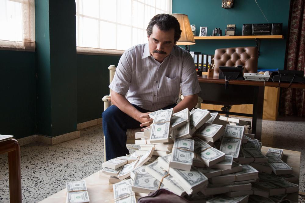 série sobre Escobar