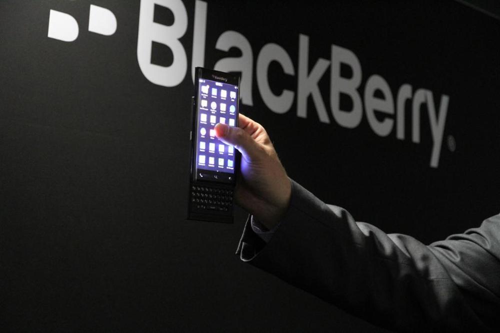 BlackBerry telemóvel Android