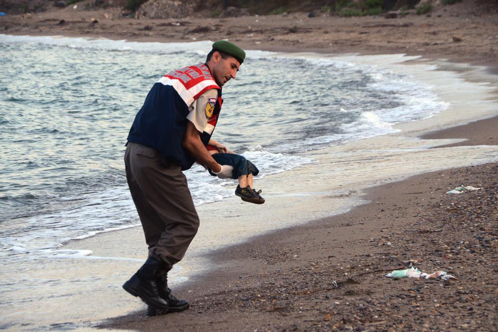 símbolo da crise de refugiados