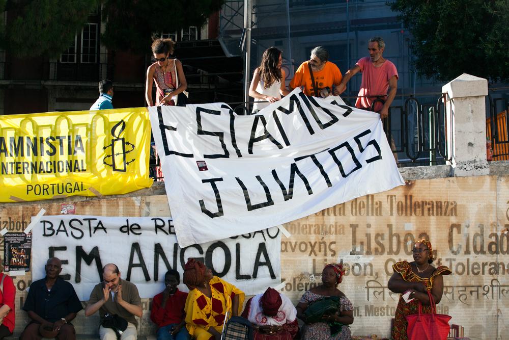 prisão activistas angolanos