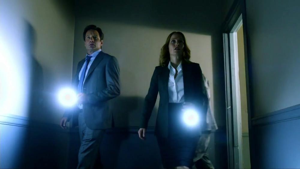 imagens do regresso de The X-Files