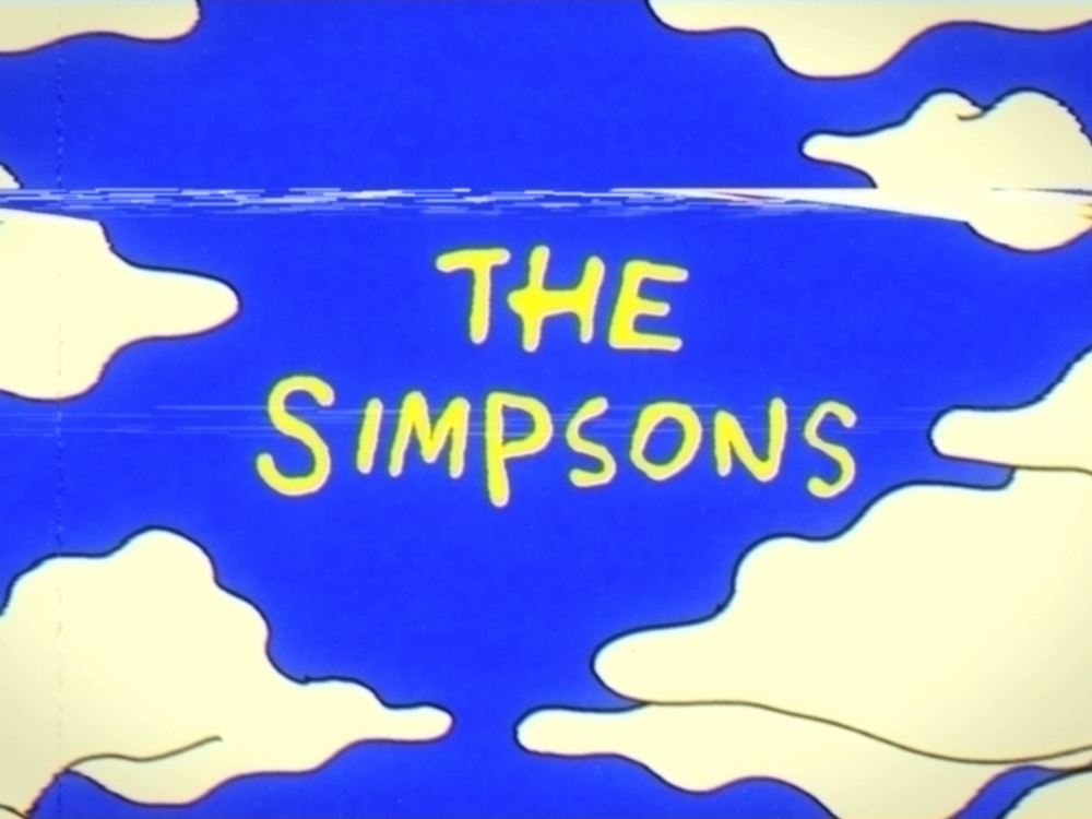 tributo vhs simpsons