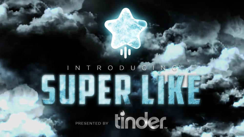 Tinder swipe up