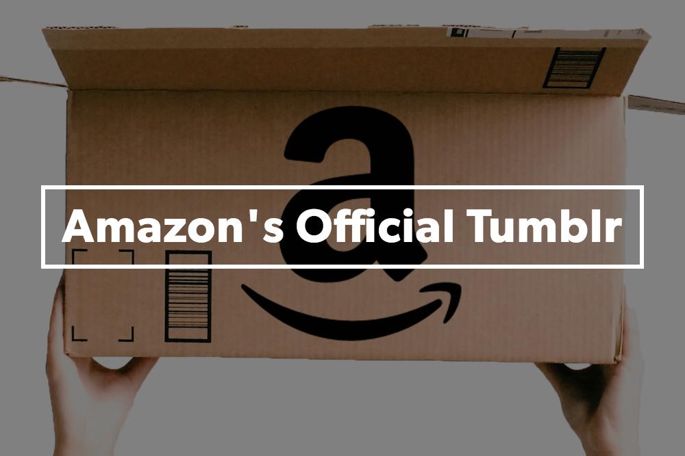 Tumblr Amazon coisas que provavelmente nunca vais comprar
