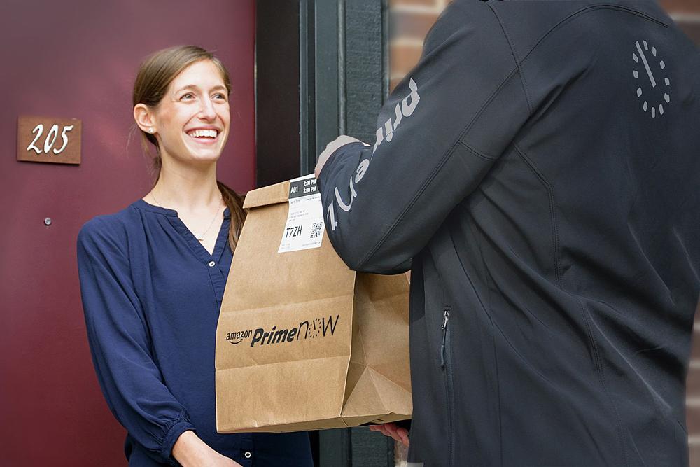 amazon serviço de entregas