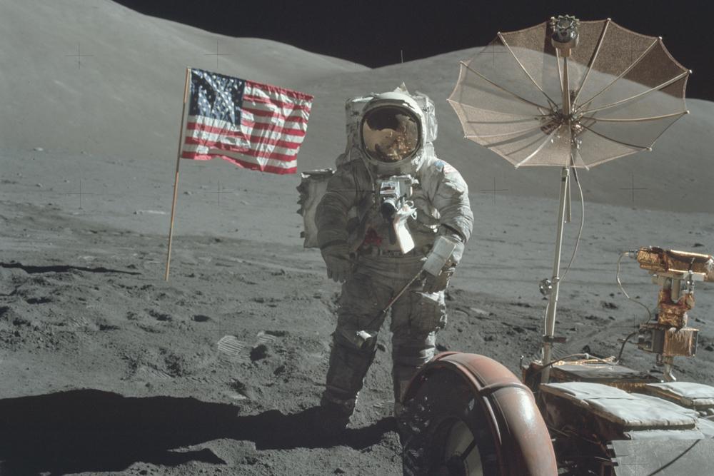 fotos das missões da NASA à lua