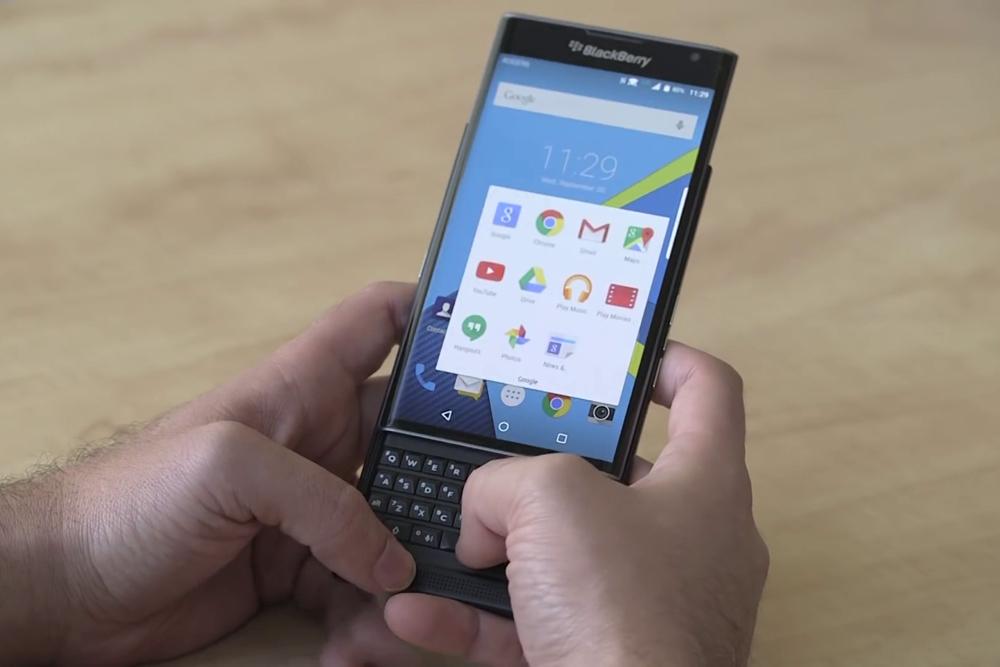 telemóvel Android da BlackBerry