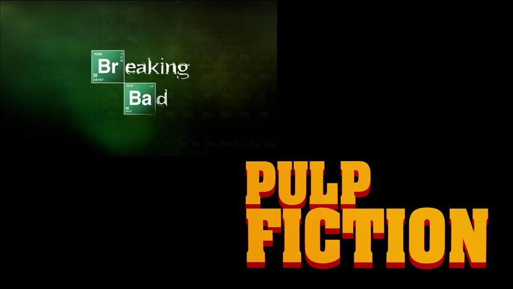 Breaking Bad e Pulp Fiction