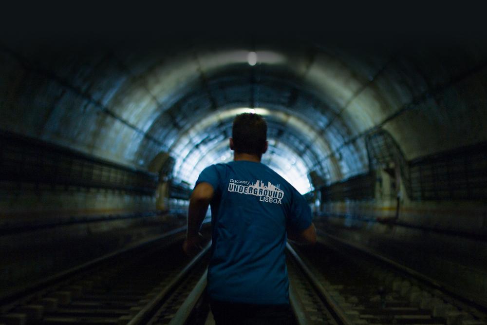 túneis do metro de Lisboa