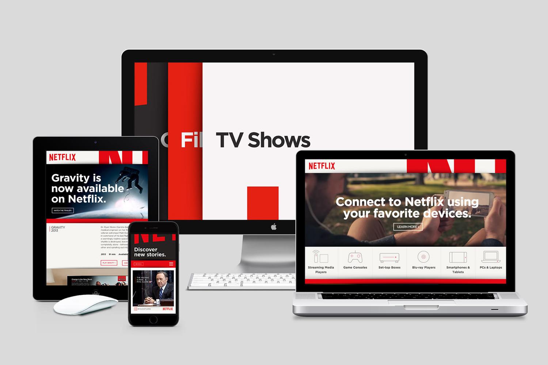 rebranding do Netflix