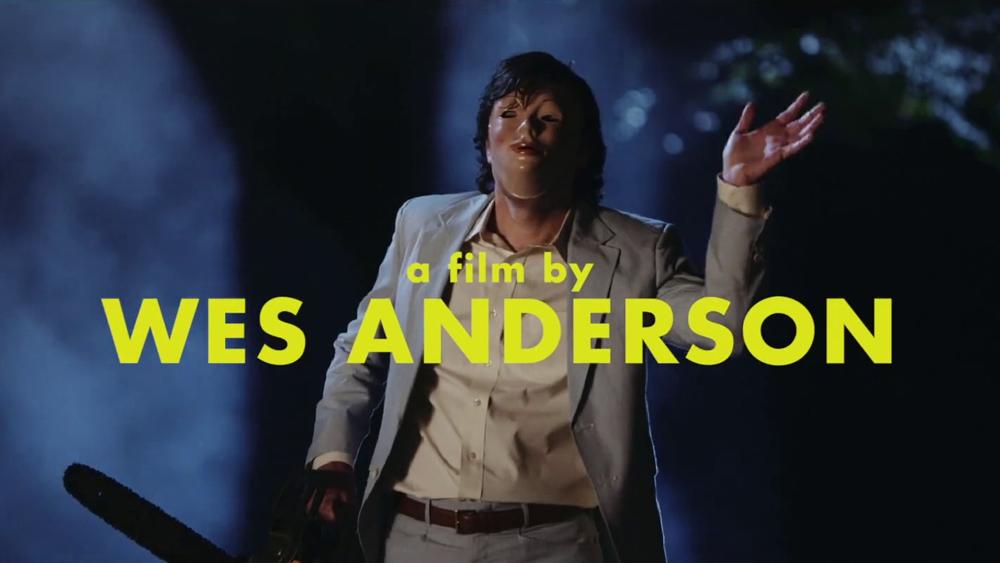 Wes Anderson filme de terror