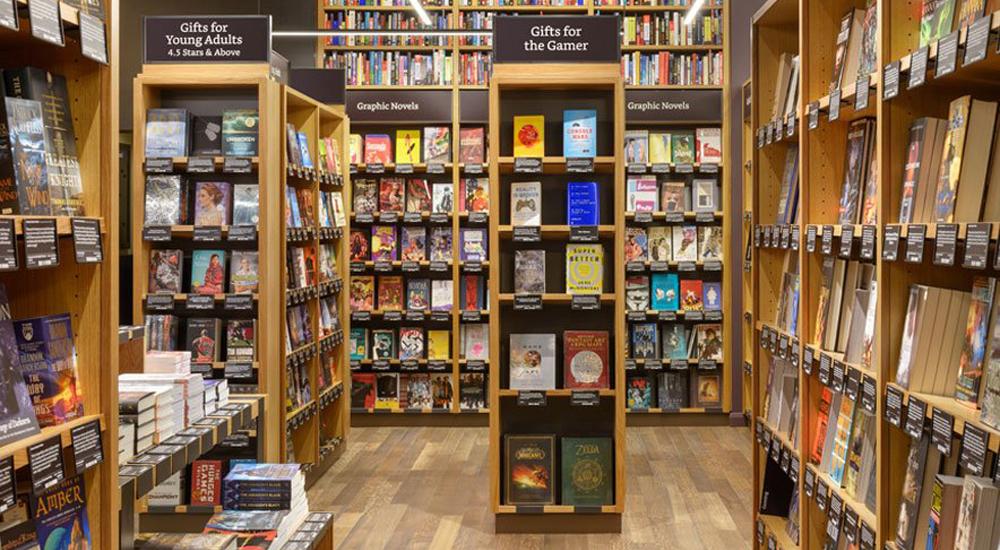 livraria física da Amazon