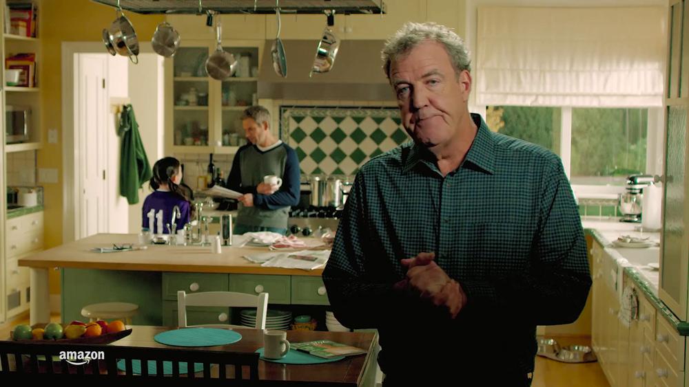 Amazon do futuro Jeremy Clarkson