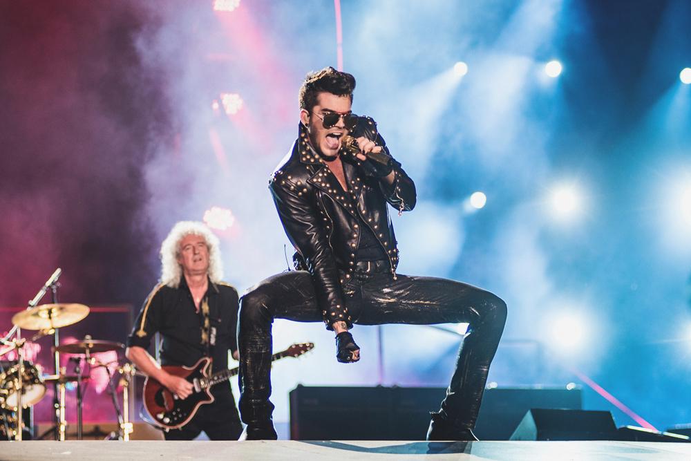 Queen com Adam Lambert