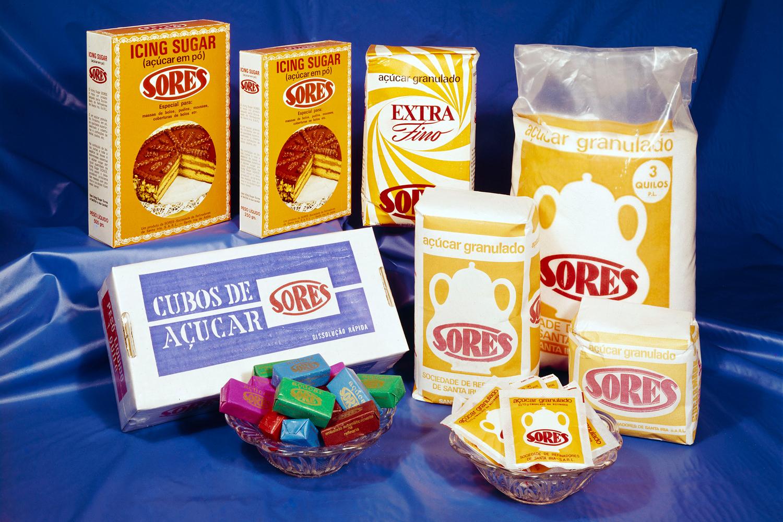 Fotografia de produto do Açúcar Sores.