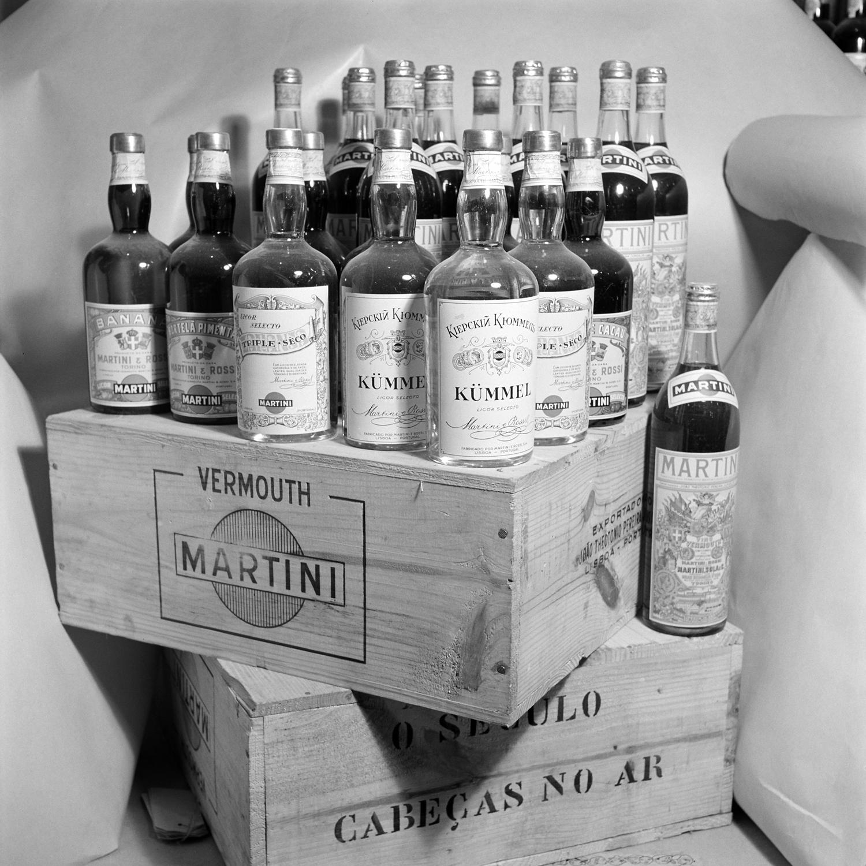 Expositor da Martini.
