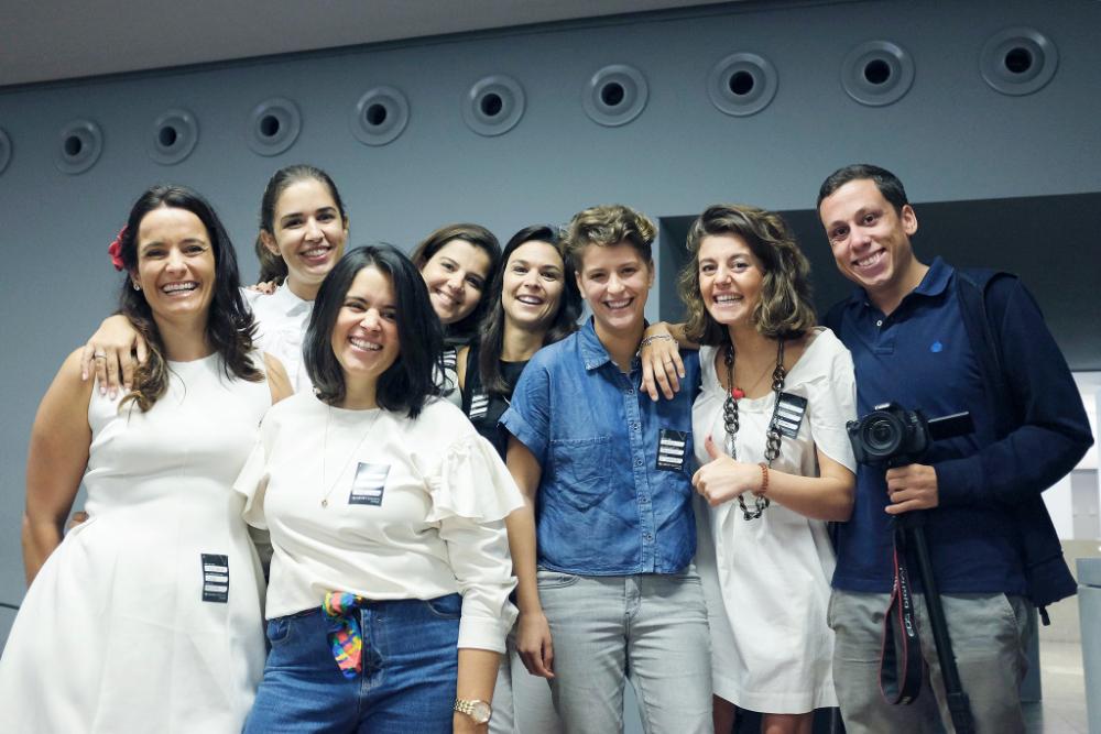 A equipa das Chicas Poderosas Portugal