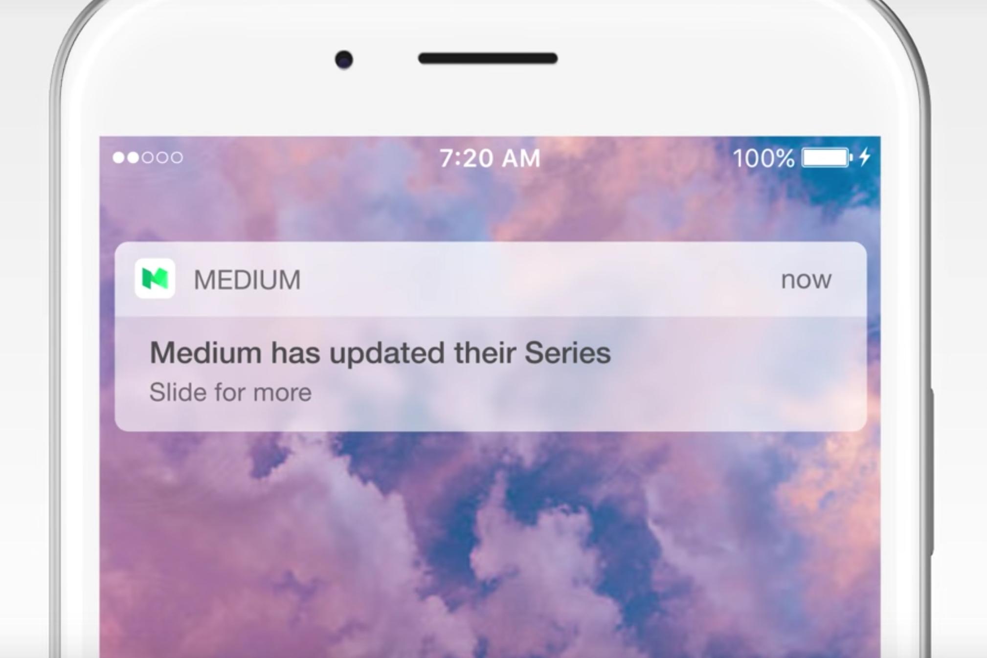 histórias do Medium