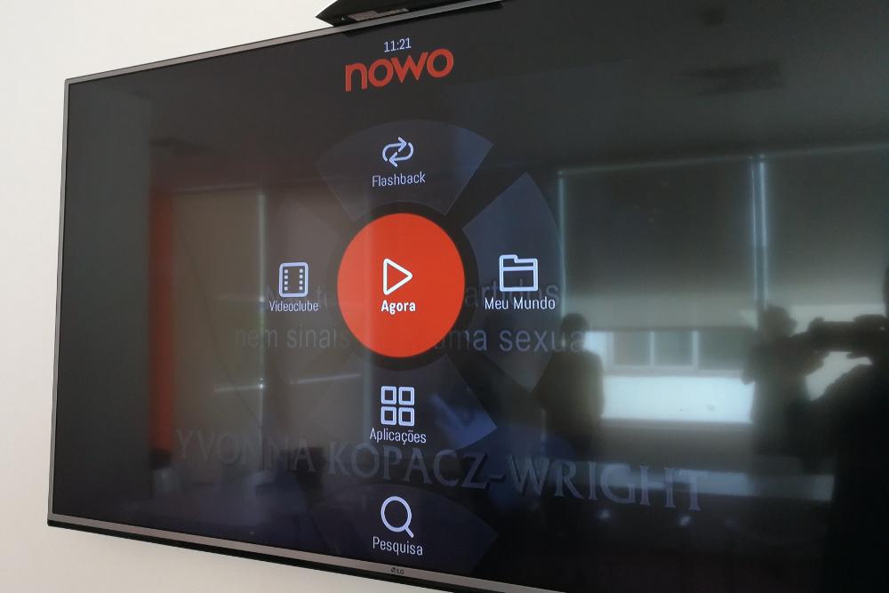 televisão NOWO