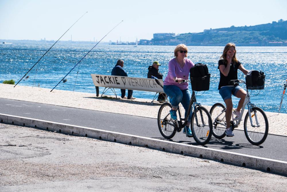 bicicletas em Lisboa