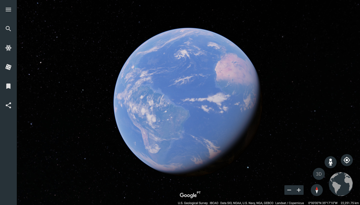 Google planet earth