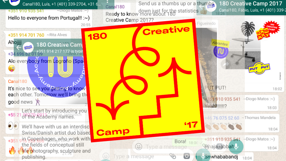 180 Creative Camp Whatsapp