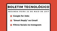 boletim tecnológico 22 de maio