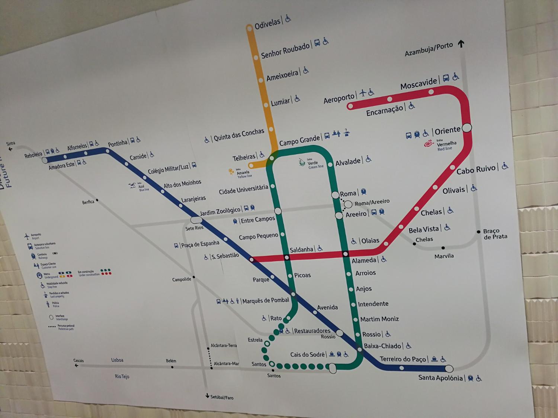 Governo confirma duas novas estações de metro em Lisboa