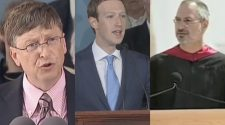 Zuckerberg, Gates, Jobs