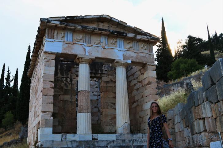 Templo Grego, Delphi