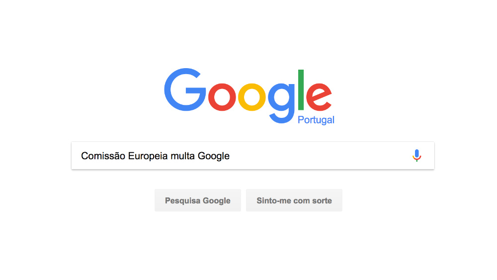 google multa concorrência desleal