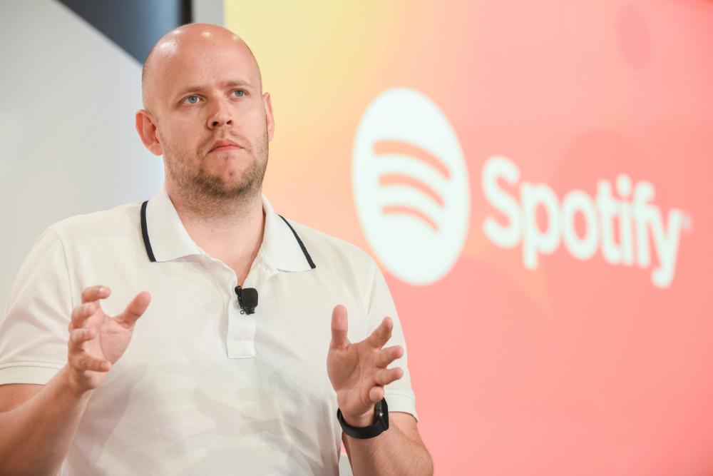 Spotify crescimento utilizadores