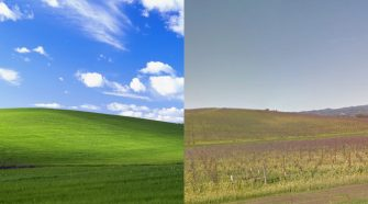 wallpaper Windows XP 20 anos depois