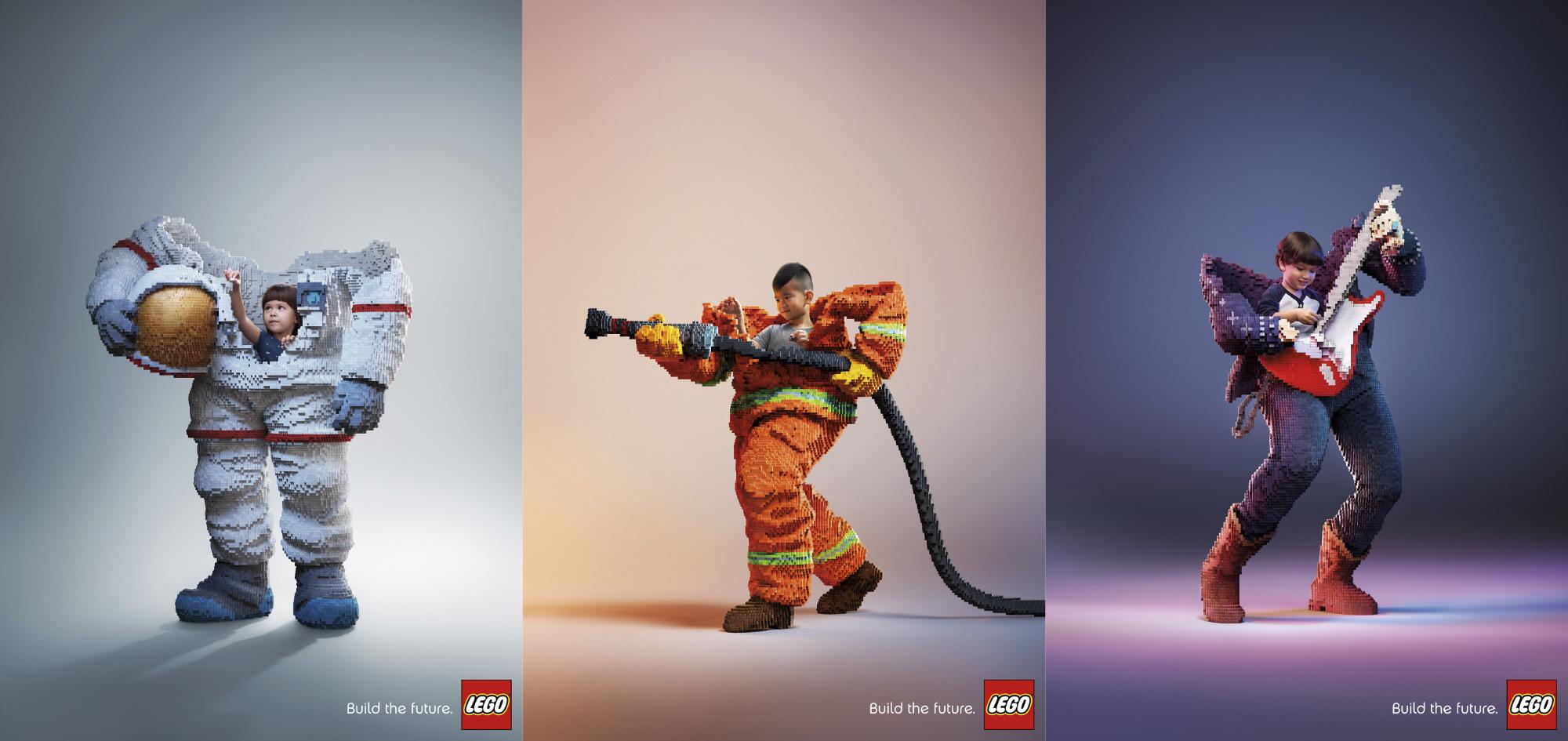 Sonhos de criança - Campanha LEGO